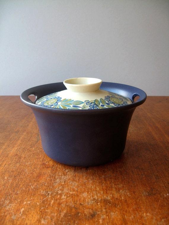 Scandinavian Modern Ceramic Figgjo Tor Viking Casserole / Tureen
