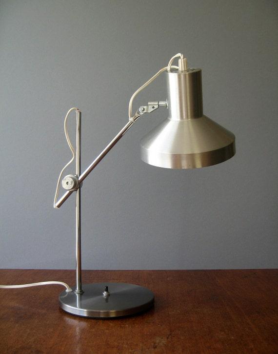 mid century desk lamp danish modern industrial. Black Bedroom Furniture Sets. Home Design Ideas