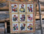Retro Baby Quilt - Reserved for Stacey