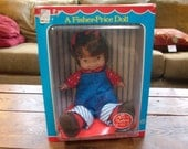 1973 Fisher Price Audrey Doll-MINT IN BOX-203