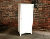 Vintage White Metal Cabinet / Free Delivery NYC