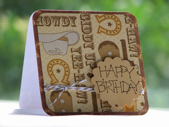 Giddy On Up - Birthday Greeting Card