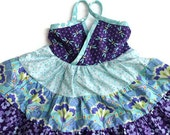 Pretty Purple Tiered Dress - 2T - 6T