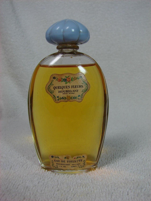 vintage houbigant quelques fleurs perfume eau de toilette