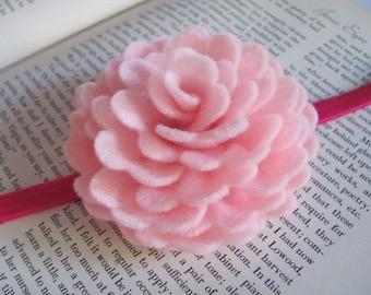 Felt Rose Pattern VIOLETTE ROSE Felt Flower Brooch Rose Pattern Hairclip Rose Tutorial Headband PDF Tutorial ePattern eBook How To