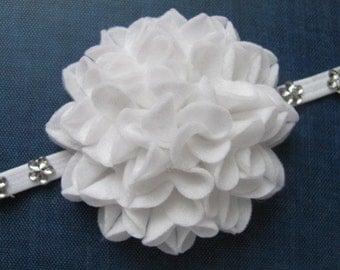 Felt Flower Pattern STARLETTE FLOWER No Sew Felt Flower Tutorial Brooch Hairclip Headband PDF ePattern eBook How To