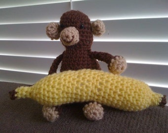 Monkey and Banana - Set of 2