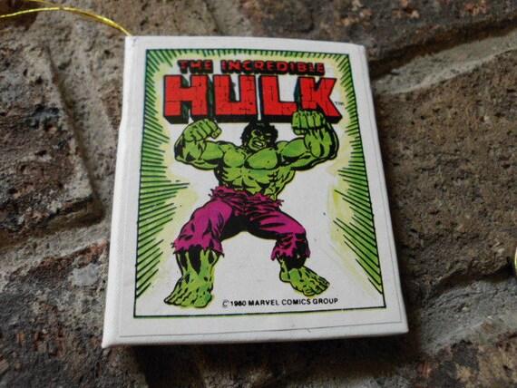 Vintage Marvel Comics Incredible Hulk mini book