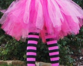 Multicolored tutu skirt