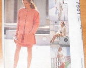 OOP McCall's Womens Dress Sewing Pattern 7501 size 18-22 Uncut