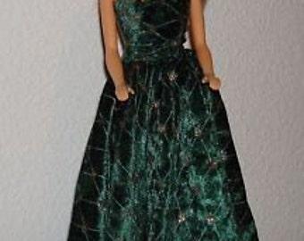 Handmade Long Dress for Barbie Doll  Number 1