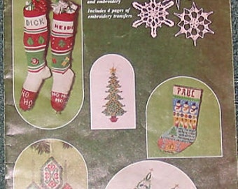 Christmas in Stitches Counted Cross Stitch & others