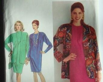 OOP Simplicity Womens Sewing Pattern 8597 size 20-26 Uncut