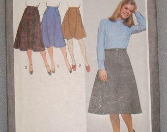 OOP Simplicity Womens Sewing Pattern 9618  size 10  Uncut