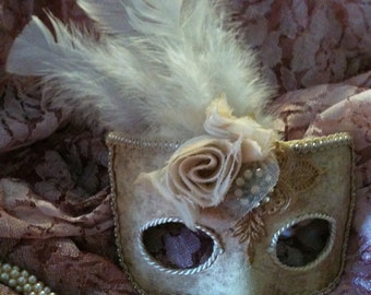 You Choose Lady - Custom Venetian Style Mask