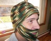 Bearded Hat - Adult Teen All sizes - Custom Color