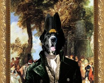 Newfoundland Art/Newfoundland Print/Newfie/CANVAS Print/Fine Artwork/Dog Portrait/Dog Painting/Dog Art/Dog Print/Custom Dog Art