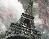 Modern Home Décor - Eiffel Tower - FREE SHIPPING - Fine Art  Photography 16''x24''