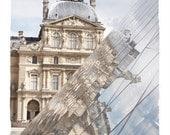 "Louvre reflections - Fine Art  Photography 8""x10"""