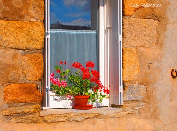 "Paris sky through my window - Fine Art  Photography 8""x10"""