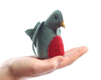 Bluebird PDF  Pattern , Felt bird ornament, beginner sewing, Felt bird sewing pattern - bird sewing pattern - Animal Pattern