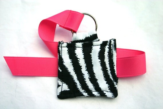 Zebra print magnetic book mark by BookInz on Etsy