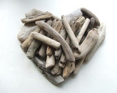 25 Chunky Driftwood Supplies Pieces 3 to 6 1/2 inches For Crafts and Projects