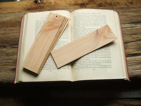 Wooden Bookmark Blanks for Pyrography and Personalising.