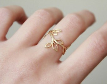 Branch Ring // Gold or Silver