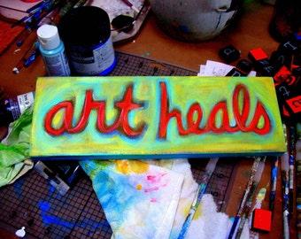 Art Heals Photo print 11 x 14