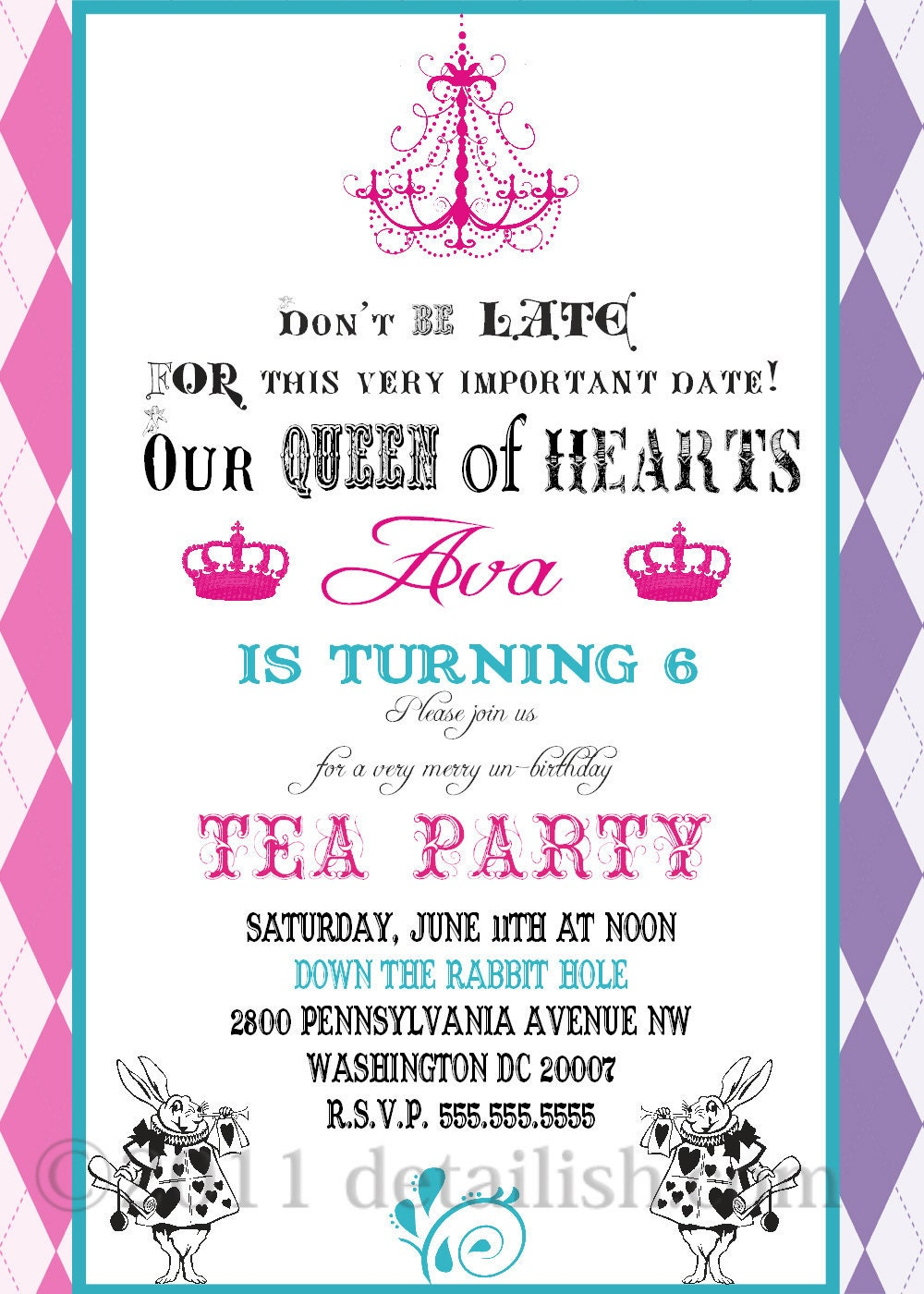 birthday party invitation email wording ballerina birthday party alice in wonderland fancy tea party by lillymilliestudio on