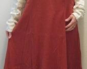 Norse burka dress and apron