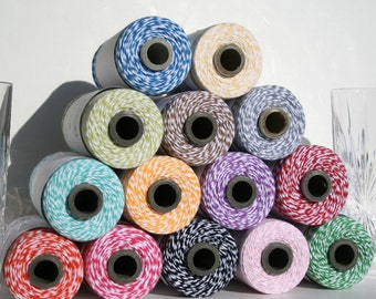 Bakers twine 100 yards your choice create your own listing.