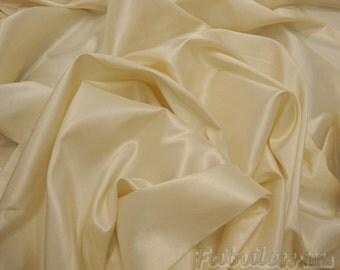 "Vanilla Dress Drapery iridescent Taffeta fabric sold per yard BTY 60"" Wide"