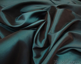 10 yards Green Dress Drapery Taffeta fabric per yard
