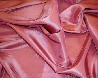 Taffeta Dusty Rose Dress Drapery Taffeta fabric