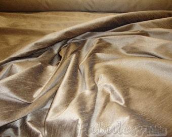 Taffy Shantung Dupioni Faux Silk fabric per yard