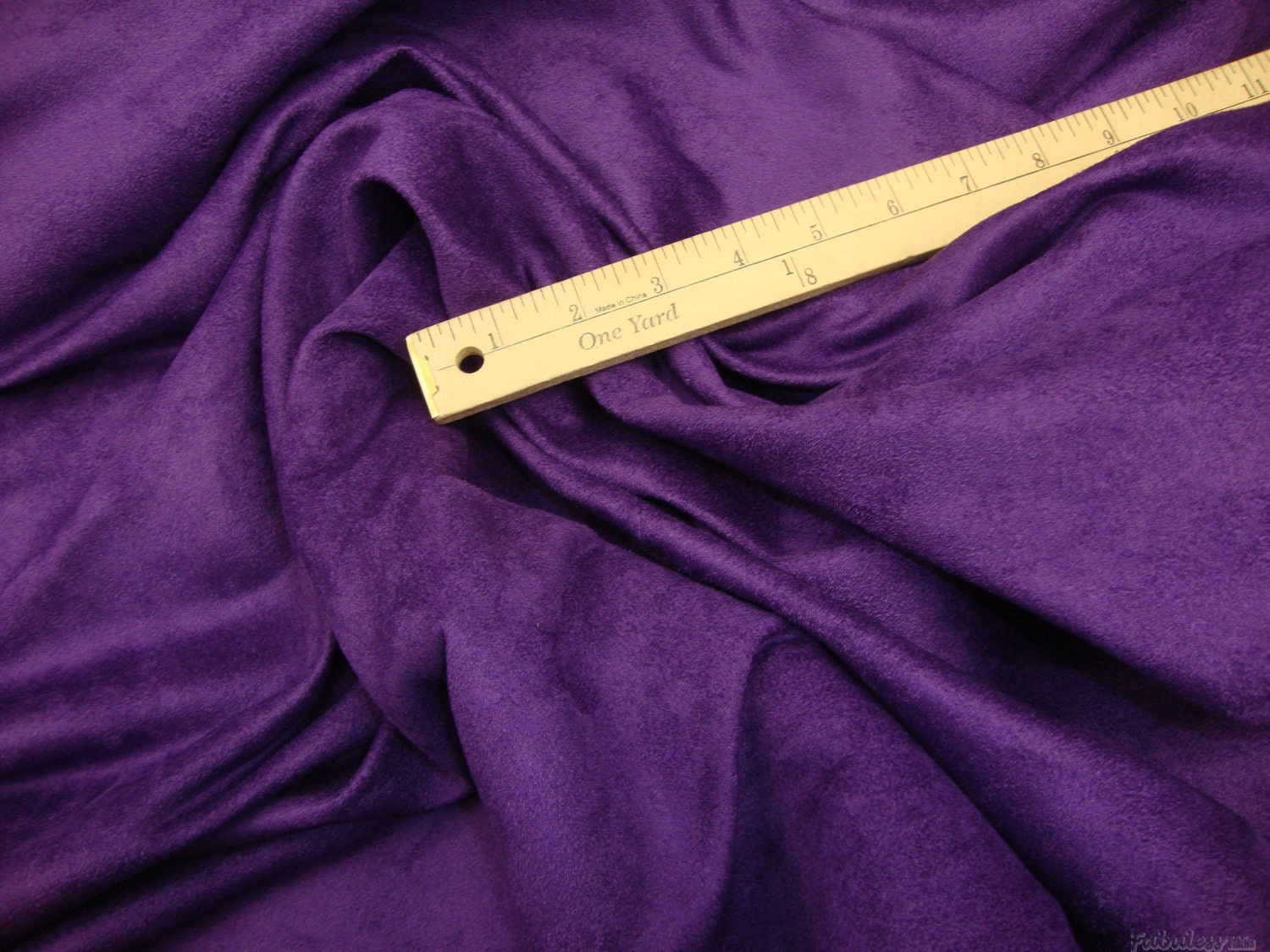 suede purple polyester micro faux suede upholstery fabric by. Black Bedroom Furniture Sets. Home Design Ideas