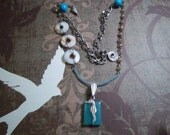 Caribbean Seahorse Necklace, an Ocean Adventure