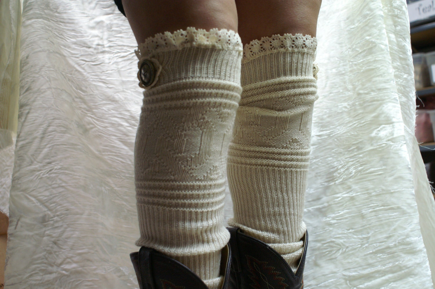 Womens Over The Knee Boot Socks - Boot Ri