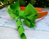 Pumpkin Top Ribbon Headband