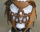 Halloween Steampunk/Fantasy Leather Mask