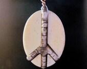 Peace Sign /Pendant Necklace
