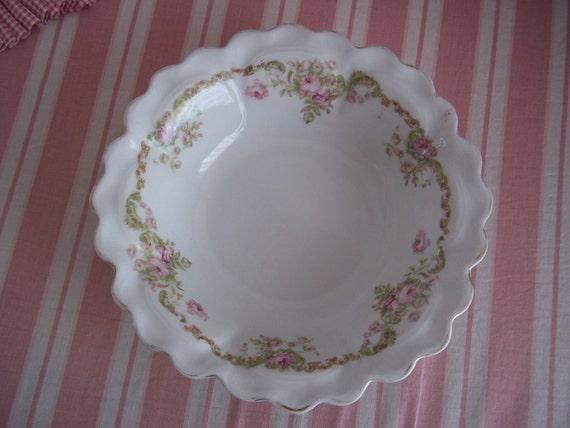 Bavarian Rose Embellished Bowl