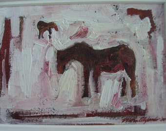 Study in Red,  Horses
