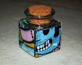 Graffiti Stash Jar