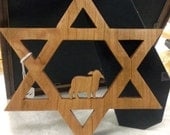 Star of David with the Lamb as the center peace