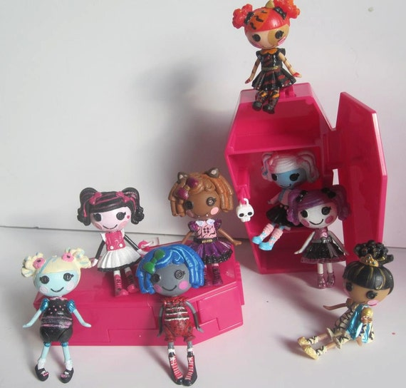 Lalaloopsy Mini as Monster High Custom Dolls-Reserved for Amanda Tovar