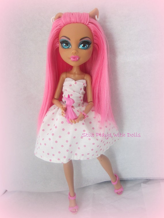 RESERVE PAYMENT for Kati Rhodes - Monster High OOAK - Tala Wolf - A custom Howleen