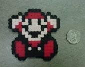 Super Mario Bros 3 Dead Game Over Mario Fridge Magnet Nintendo NES 8-Bit Art
